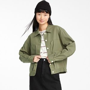 Organic Cotton Shirt Jacket